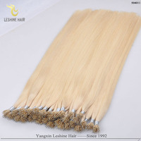 New Products 100% Human Hair double drawn nano ring hair extension