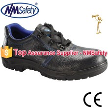 NMSAFETY cow leather low cut safety shoes footwear exporters