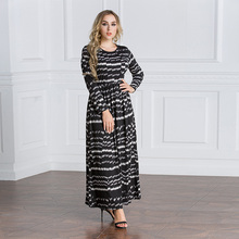 girls casual fashion design muslim maxi women clothing dresses