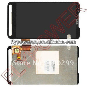 For HTC HD2 T8585 LCD Screen with touch digitizer assembly;100% original