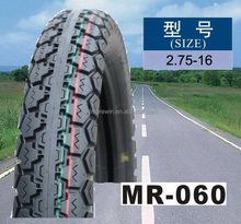 Motorcycle tyre 2.75-16 with high quality