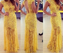 S10254A europea 2015 backless prom dress slim fit hollow out ladies prom dress