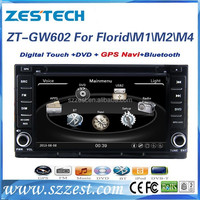 ZESTECH touch screen dvd player gps BT video radio 3G wifi car audio player for great wall haval m4