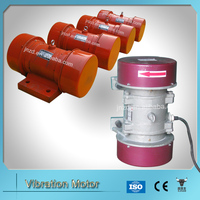 high frequency Rotary Electric Vibrator for precast concrete applications
