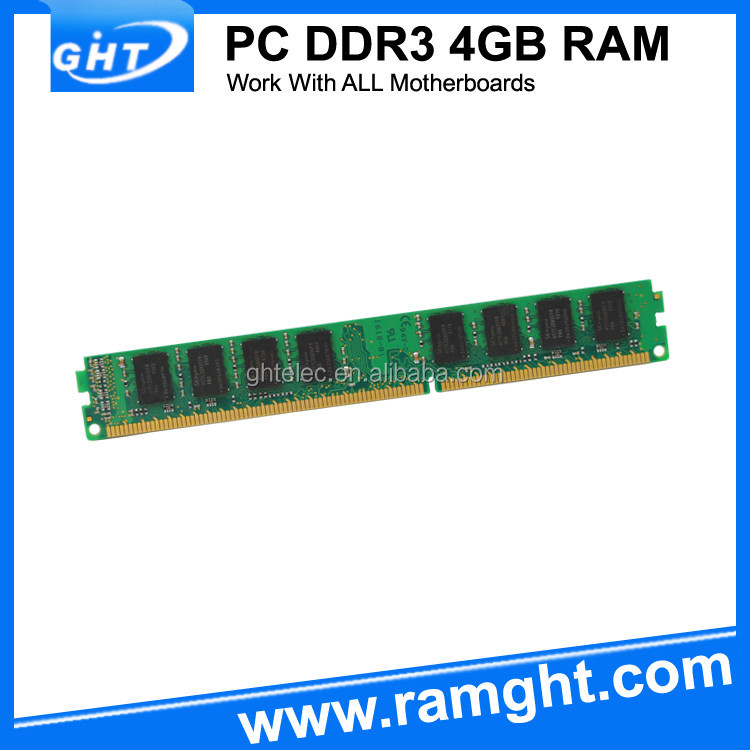 Computer parts lifetime warranty 1600mhz desktop ddr3 4gb memory