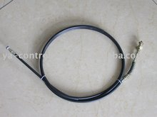 Motorcycle front brake cable