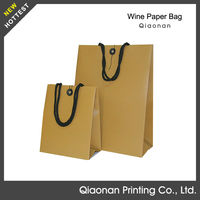 wholesale promotional printed recyclable reusable foldable custom made cheap paper shopping bags in Zhangzhou