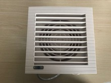 220V square type shutters wall mounted ventilation exhaust fan