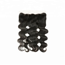 13x4 Body Wave Human Hair Extension Virgin Human Raw Indian Hair Lace Frontal Closure