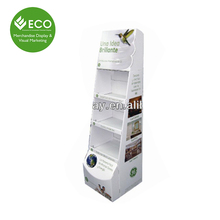 Design Retail Store Cardboard Shelves Display Stand For Creative Gifts