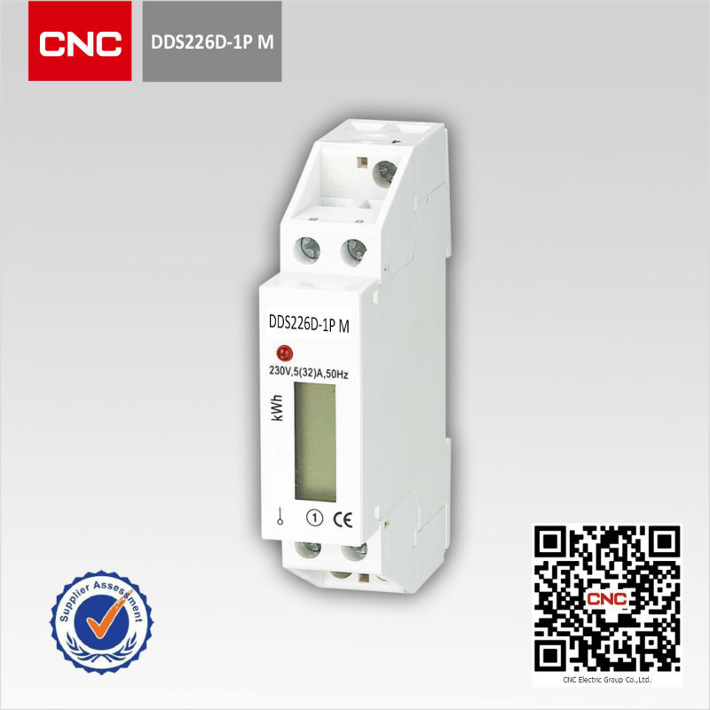 DDS226D-1P-M High Quality Single Phase Din-rail Energy Meter