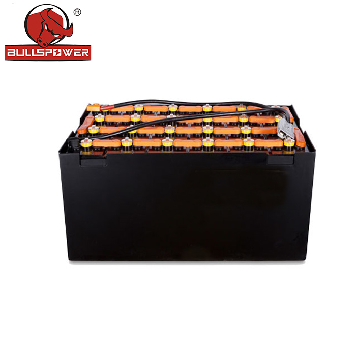 Germanic DIN standard rechargeable 48v 500ah 750ah 900ah industrial forklift battery for toyota forklift
