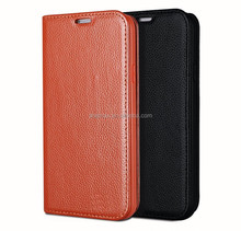 High Quality Genuine Cow Leather For Samsung Galaxy S5 Case