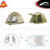 4 Person 4 Season Double Layer Big Family Dome Camping Cabin Tent with vestibules
