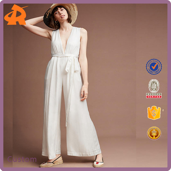 2017 Womens Hot Sale Office Lady Clothing Jumpsuit Wholesale
