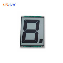 customize one digit 7 segment lcd custom cheap led display UNLCD70011