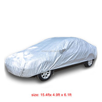 Outoor Indoor Medium Size 470x150x187cm anti-UV Dust snow Proof Car Cover