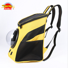 RoblionPet High quality capsule pet travel carrier bag backpack wholesale dog small animals tote bag