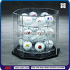 TSD-A802 Hot sale acrylic golf ball display case/golf ball display boxes/golf ball display rack