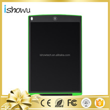 Economic 12 inch Erasable Paperless Drawing Pad LCD Message Board +Durable Stylus+Lanyard Hole in School, House, Office