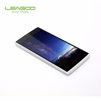 Free Shipping Leagoo Alfa 5 Smartphone Wholesale Android 5.1 Quad Core 1GB RAM 8GB ROM 3G WCDMA Smart Mobile Cell Phone