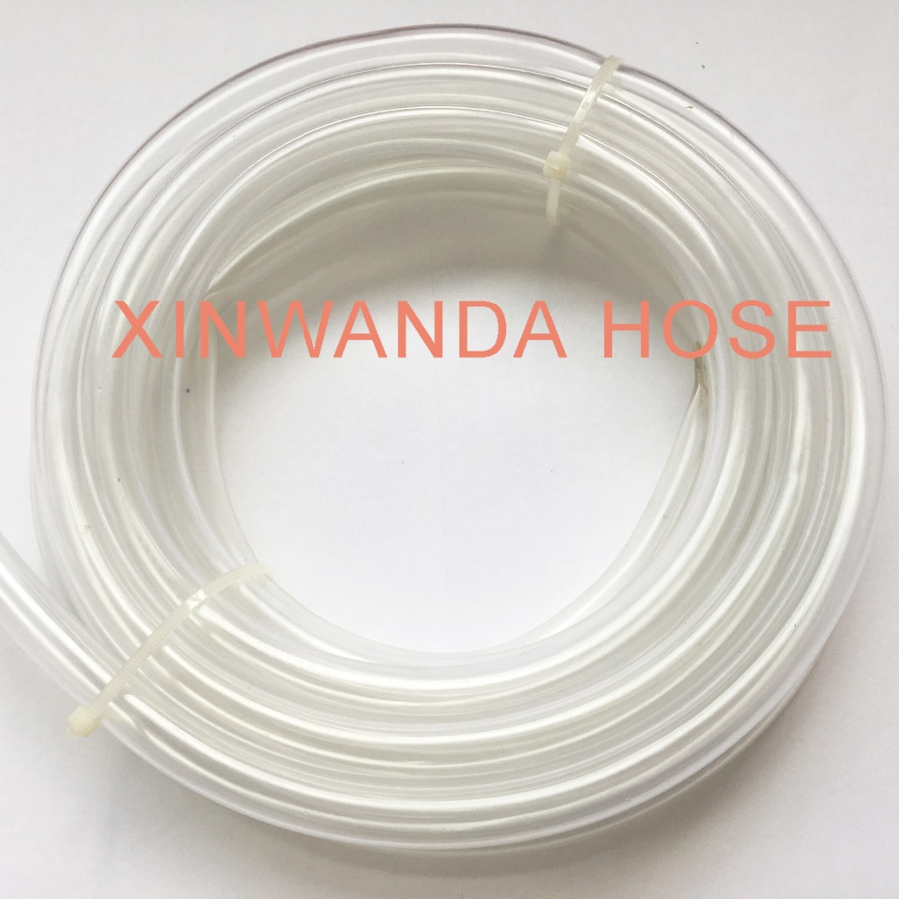 6mm Flexible PVC Clear Hard Transparent Plastic Hose Tube Good Quality for Leveling