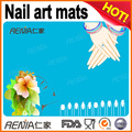 RENJIA 2016 hot selling silicone nail art mats for lady