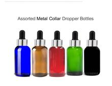 Manufacture Wholesales amber glass bottles wholesale walmart bottle boston round 10ml 30ml 50ml 100ml clear green blue crc cap