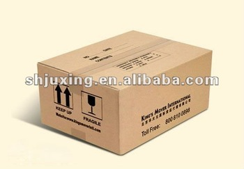 corrugated export carton box