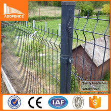 China factory supply garden cheap wire fence / cheap wire fence panel and fence post / garden fence