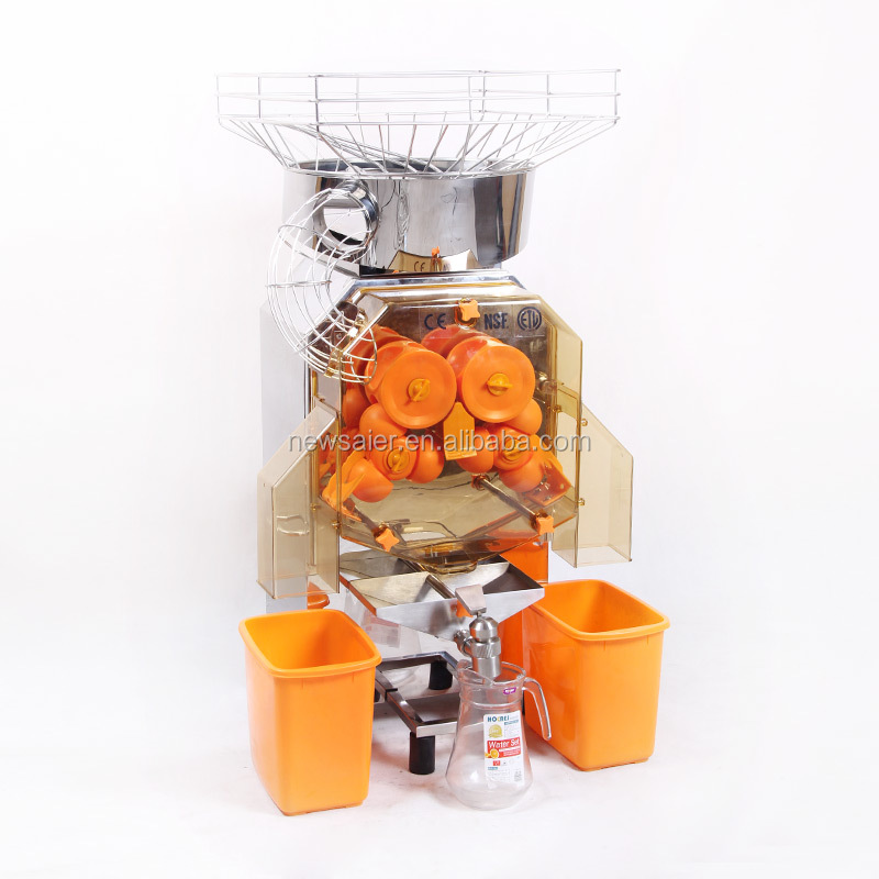 power juicer stainless steel fruit squeezing juicer vending machine