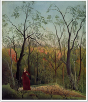 Henri Rousseau Women in the woods beautiful handmade oil painting on canvas
