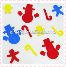 flower shape window gel stickers for promotion