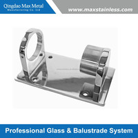 Stainless steel wall mounting post bracket