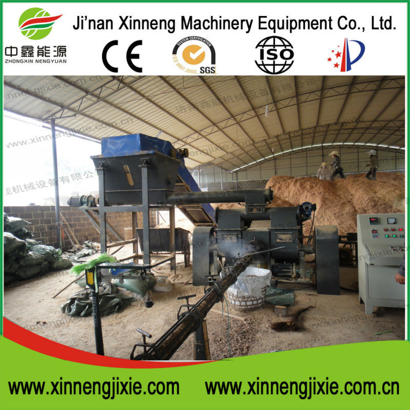 Sawdust Block Making Machine, 15 years high quality manufacturer, the guarantee of high quality