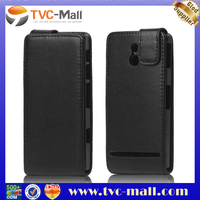 PU Leather Flip Case Cover for Sony Xperia P LT22i