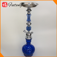 Large 2 Tube Smoking Pipe Wholesale Shisha Hookah with Competitive Price