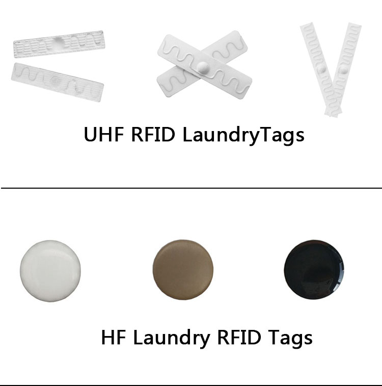 13.56 MHz Washable Round Epoxy Coated RFID Laundry Tag
