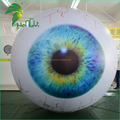 Halloween Giant Eyes Sphere Balloons / Advertising Inflatable Helium Eyeball