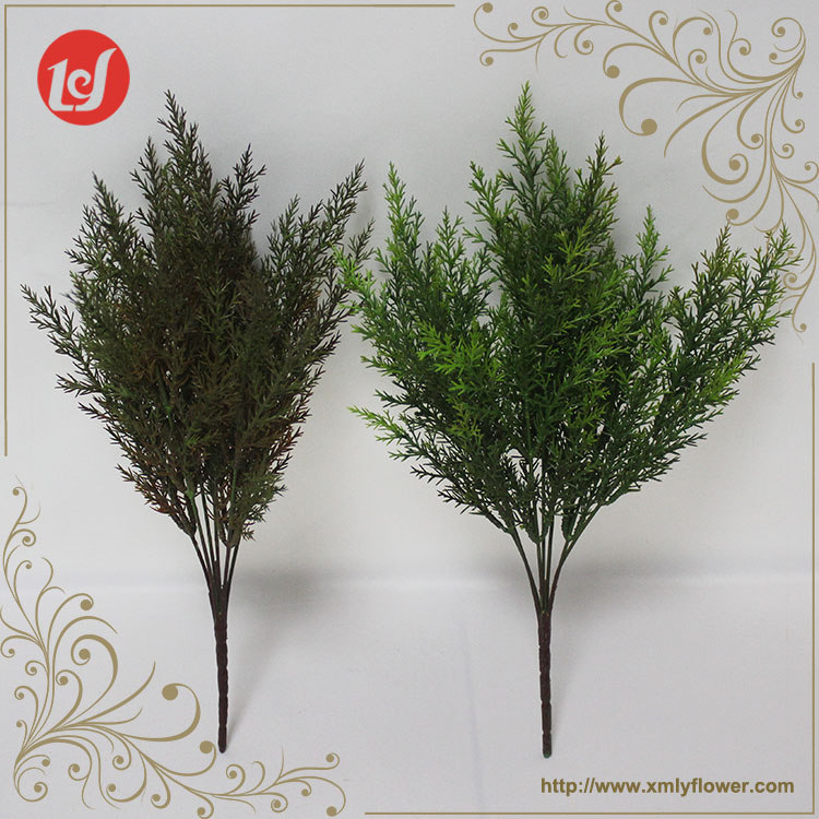 SFB37007A Garden Greenery artificial green bush plastic cypress leaves plant