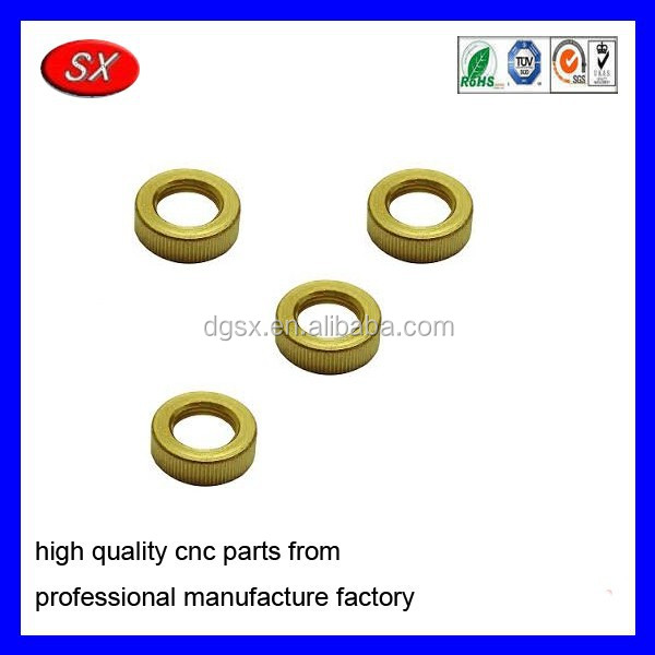 custom valve stem nut CuZn36Pb3Plug nut Machining parts
