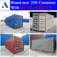 20 feet iso container dimensions with high quality for sale