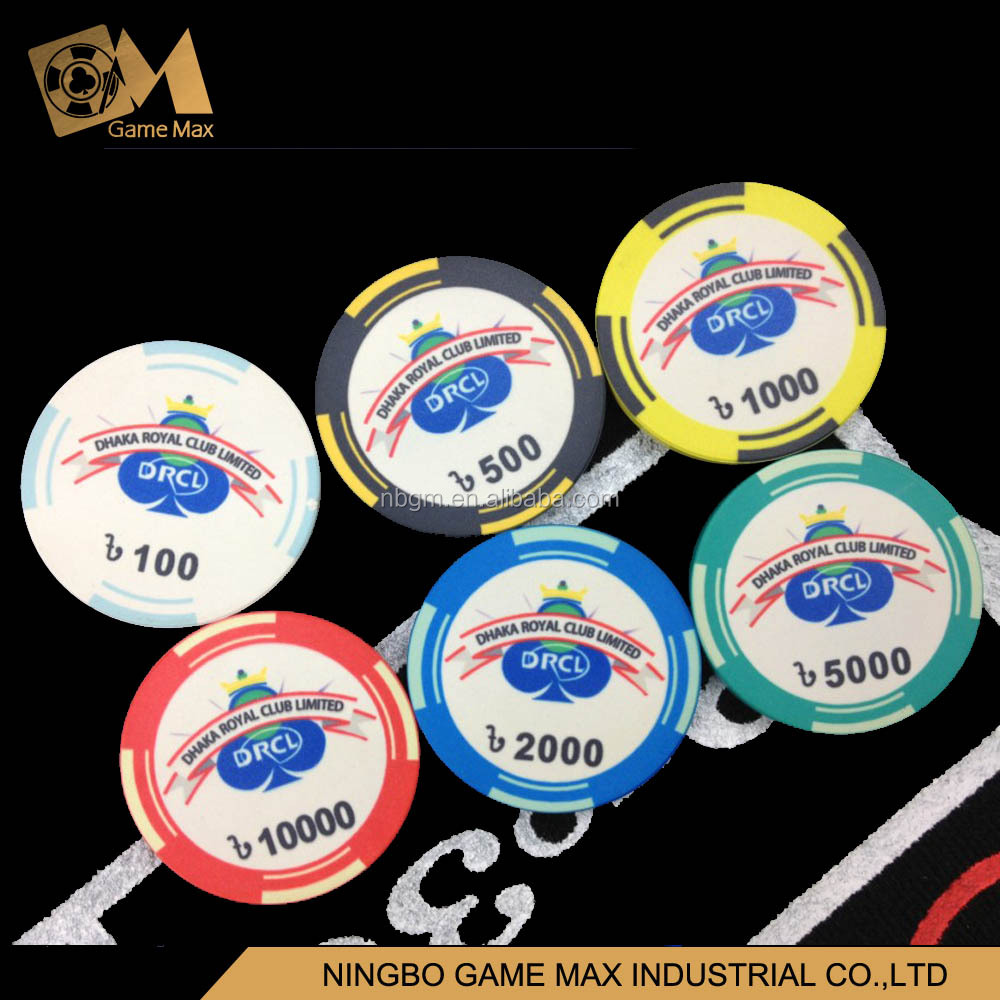 10g Ceramic Custom Poker Chips/Casino Poker Chip
