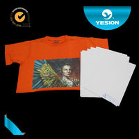 Dark & light farbic textile printing paper Laser heat transfer paper for T-shirt printing