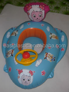 inflatable baby care swimming floater seat
