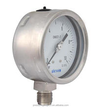 All stainless steel argon arc gas welding pressure gauge
