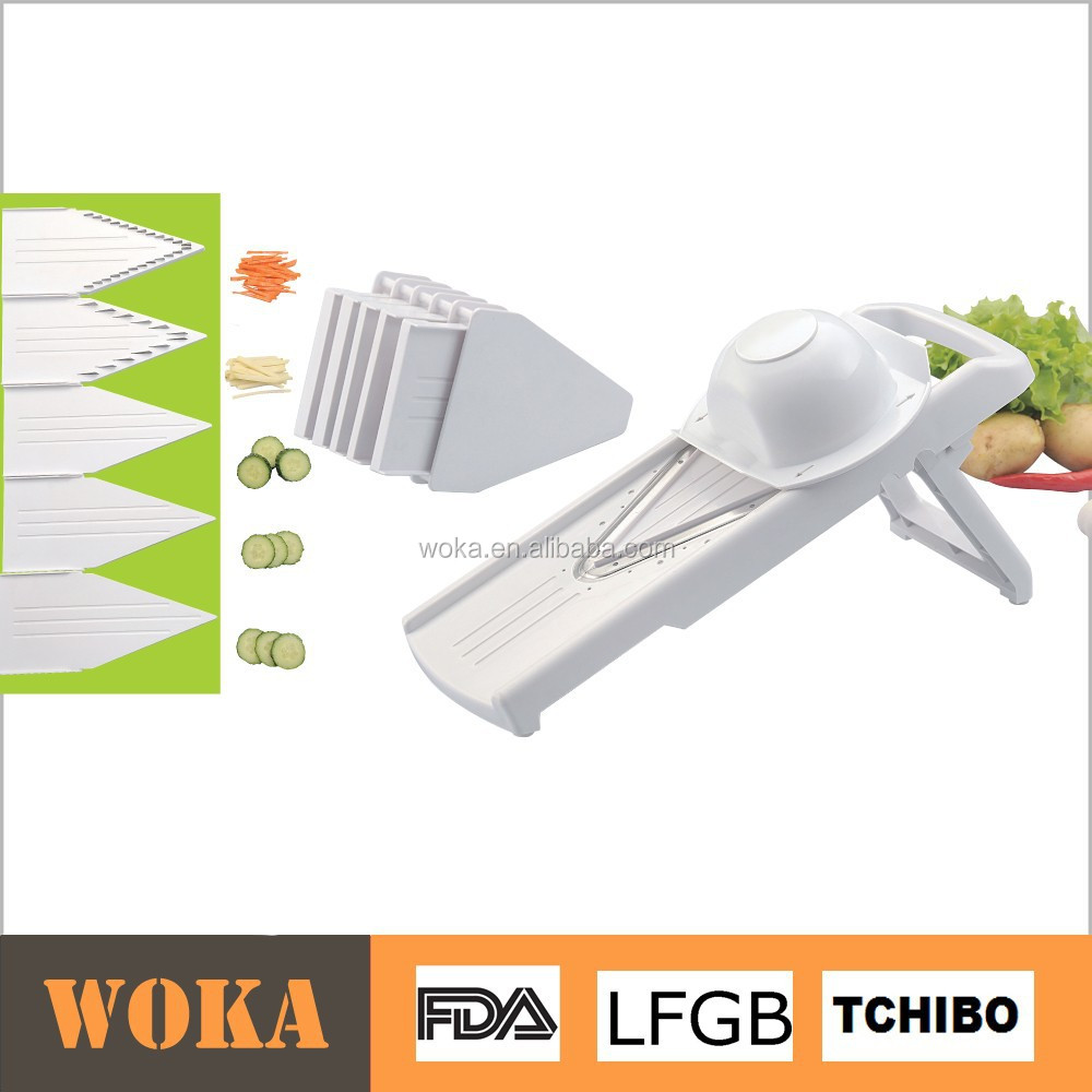 Pro V Premium Vegetable Mandoline Slicer multi grater julienne vegetable cutter As Seen On TV