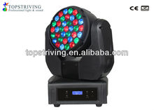 Edison LEDs led beam 37 3w led beam moving head rgb stage professional wholesale lighting edison professional dj equipment