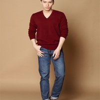 Men S Business Style V Neck