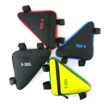 4 Colors Waterproof Triangle Cycling Bicycle Bags Front Tube Frame Bag Mountain Triangle Bike Pouch Holder Saddle Bag